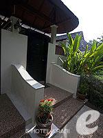 クラビ 10,000~20,000円のホテル : ランタ チャ ダ ビーチ リゾート(Cha Da Beach Resort & Spa)のダイアモンド ビラルームの設備 Entrance