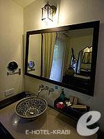 クラビ 10,000~20,000円のホテル : ランタ チャ ダ ビーチ リゾート(Cha Da Beach Resort & Spa)のダイアモンド ビラルームの設備 Bath Room