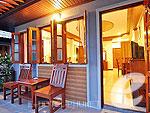 プーケット ヴィラコテージのホテル : チャロン ヴィラ リゾート & スパ(Chalong Villa Resort & Spa)のデラックス プライベート ヴィラルームの設備 Terrace