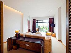 パタヤ ファミリー&グループのホテル : チャムズ ハウス コ クッド リゾート(1)のお部屋「グランド デラックス ジャグジー オーシャン ビュー」