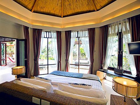 パタヤ ファミリー&グループのホテル : チャムズ ハウス コ クッド リゾート(1)のお部屋「トロピカル ヴィラ」