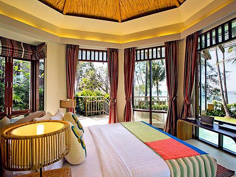 パタヤ ファミリー&グループのホテル : チャムズ ハウス コ クッド リゾート(1)のお部屋「ビーチフロント プール ヴィラ」