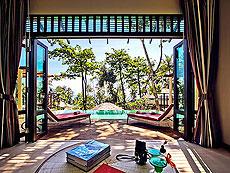 パタヤ ファミリー&グループのホテル : チャムズ ハウス コ クッド リゾート(1)のお部屋「プレジデンタル プール ヴィラ 2ベッドルーム」