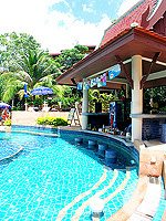 Poolside Bar : Chanalai Flora Resort, Kata Beach, Phuket