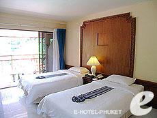 プーケット カタビーチのホテル : チャナライ フローラ リゾート(1)のお部屋「スーペリア」