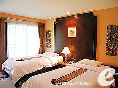 プーケット カタビーチのホテル : チャナライ フローラ リゾート(1)のお部屋「デラックス」
