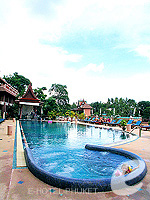 Jacuzzi Area : Chanalai Garden Resort, Kata Beach, Phuket