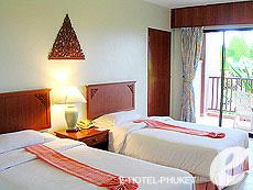 プーケット カタビーチのホテル : チャナライ ガーデン リゾート(1)のお部屋「スーペリア ガーデンビュー」