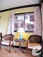プーケット カタビーチのホテル : チャナライ ガーデン リゾート(Chanalai Garden Resort)のデラックス シービュールームの設備 Relax Area