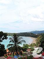 プーケット カタビーチのホテル : チャナライ ガーデン リゾート(Chanalai Garden Resort)のデラックス シービュールームの設備 Seaview