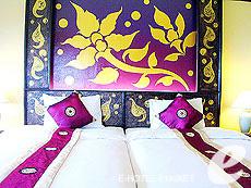 プーケット カタビーチのホテル : チャナライ ガーデン リゾート(1)のお部屋「デラックス シービュー」
