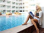 プーケット カロンビーチのホテル : チャナライ ヒルサイド リゾート(Chanalai Hillside Resort)のデラックス プール アクセスルームの設備 Pool Access