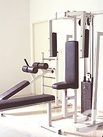 Fitness Gym : Chanalai Romantica Resort, Couple & Honeymoon, Phuket