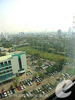 View from Window : Business Deluxe at Chaophya Park Hotel, Ratchadapisek, Bangkok