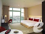 バンコク チャオプラヤー川周辺のホテル : チャトリウム ホテル リバーサイド バンコク(Chatrium Hotel Riverside Bangkok)のグランド ルームルームの設備 Room View