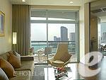 バンコク チャオプラヤー川周辺のホテル : チャトリウム ホテル リバーサイド バンコク(Chatrium Hotel Riverside Bangkok)のグランド スイート 1ベッドルームルームの設備 Room View