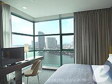 バンコク チャオプラヤー川周辺のホテル : チャトリウム ホテル リバーサイド バンコク(Chatrium Hotel Riverside Bangkok)のお部屋「グランド スイート 1ベッドルーム」