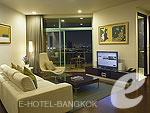 バンコク チャオプラヤー川周辺のホテル : チャトリウム ホテル リバーサイド バンコク(Chatrium Hotel Riverside Bangkok)のグランド スイート 2ベッドルームルームの設備 Room View
