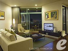 バンコク チャオプラヤー川周辺のホテル : チャトリウム ホテル リバーサイド バンコク(Chatrium Hotel Riverside Bangkok)のお部屋「グランド スイート 2ベッドルーム」