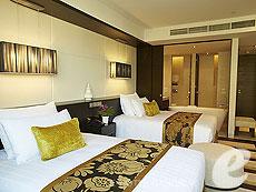 バンコク チャオプラヤー川周辺のホテル : チャトリウム ホテル リバーサイド バンコク(Chatrium Hotel Riverside Bangkok)のお部屋「プレジデンタル スイート 3ベッドルーム」