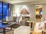 バンコク シーロム・サトーン周辺のホテル : チャトリウム レジデンス バンコク サトーン(Chatrium Residence Sathon Bangkok)のグランド デラックス 3ベッドルームルームの設備 Room View
