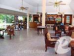 サムイ島 ビーチフロントのホテル : チャウエン ブリ リゾート 「Lobby」