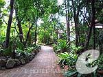サムイ島 ビーチフロントのホテル : チャウエン ブリ リゾート 「Garden」