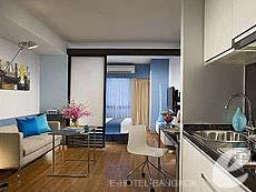 バンコク スクンビットのホテル : シタディーヌ バンコク スクンビット 11(Citadines Bangkok Sukhumvit 11)のお部屋「スタジオ エグゼクティブ(シングル)」