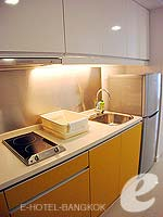 Kitchen : One Bedroom Deluxe (Single) at Citadines Bangkok Sukhumvit 16, Sukhumvit, Bangkok
