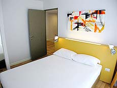 バンコク スクンビットのホテル : シタディーヌ バンコク スクンビット 16(Citadines Bangkok Sukhumvit 16)のお部屋「1 ベッドルーム デラックス(ダブル)」