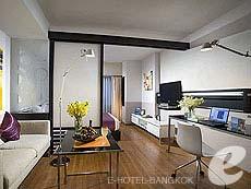 バンコク スクンビットのホテル : シタディーヌ バンコク スクンビット 23(Citadines Bangkok Sukhumvit 23)のお部屋「スタジオエグジクティブ(ダブル)」