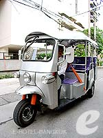 Tuk Tuk : Citadines Bangkok Sukhumvit 8, Swiming Pool, Phuket