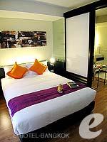バンコク スクンビットのホテル : シタディーヌ バンコク スクンビット8(Citadines Bangkok Sukhumvit 8)のスタジオ エグゼクティブ(シングル)ルームの設備 Bedroom