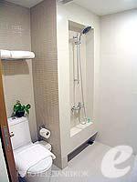 バンコク スクンビットのホテル : シタディーヌ バンコク スクンビット8(Citadines Bangkok Sukhumvit 8)のスタジオ エグゼクティブ(シングル)ルームの設備 Bathroom
