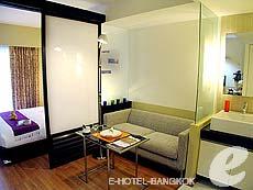 バンコク スクンビットのホテル : シタディーヌ バンコク スクンビット8(Citadines Bangkok Sukhumvit 8)のお部屋「スタジオ エグジクティブ(ダブル)」