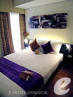 バンコク スクンビットのホテル : シタディーヌ バンコク スクンビット8(Citadines Bangkok Sukhumvit 8)の1 ベッドルーム デラックス(シングル)ルームの設備 Bedroom