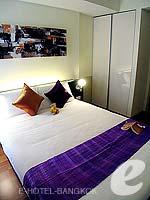 バンコク スクンビットのホテル : シタディーヌ バンコク スクンビット8(Citadines Bangkok Sukhumvit 8)の1ベットルーム デラックスルームの設備 Bedroom