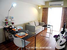バンコク スクンビットのホテル : シタディーヌ バンコク スクンビット8(Citadines Bangkok Sukhumvit 8)のお部屋「1ベットルーム デラックス」