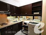 バンコク スクンビットのホテル : CNC レジデンス(CNC Residence)の1ベッド スイート ウィズ ブレックファーストルームの設備 Room View
