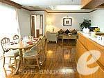 バンコク スクンビットのホテル : CNC レジデンス(CNC Residence)の3ベッド スイート ウィズ ブレックファーストルームの設備 Room View