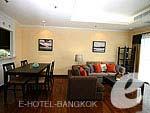 バンコク スクンビットのホテル : CNC レジデンス(CNC Residence)の1ベッドルーム スイート(ルーム オンリー)ルームの設備 Room View