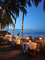 Restaurant : Coco Palm Beach Resort, Maenam Beach, Phuket