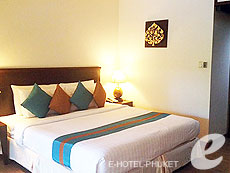 プーケット パトンビーチのホテル : ココナッツ ビレッジ リゾート(1)のお部屋「スーペリア」