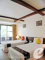 プーケット パトンビーチのホテル : ココナッツ ビレッジ リゾート(Coconut Village Resort)のデラックスルームの設備 Room View