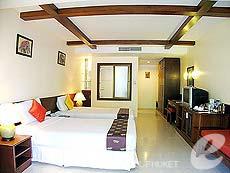 プーケット パトンビーチのホテル : ココナッツ ビレッジ リゾート(1)のお部屋「デラックス」