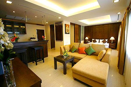 プーケット パトンビーチのホテル : ココナッツ ビレッジ リゾート(1)のお部屋「スタジオ」