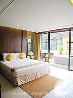 プーケット パトンビーチのホテル : ココナッツ ビレッジ リゾート(Coconut Village Resort)のジャグジールームの設備 Bedroom