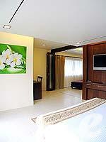 プーケット 5,000円以下のホテル : ココナッツ ビレッジ リゾート(Coconut Village Resort)のジャグジールームの設備 Room View