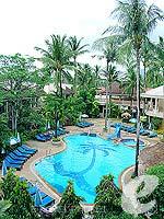 プーケット パトンビーチのホテル : ココナッツ ビレッジ リゾート(Coconut Village Resort)のジャグジールームの設備 View
