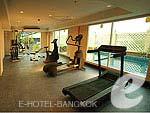 バンコク スワンナプーム空港周辺のホテル : コンビニエント グランド ホテル 「Fitness」
